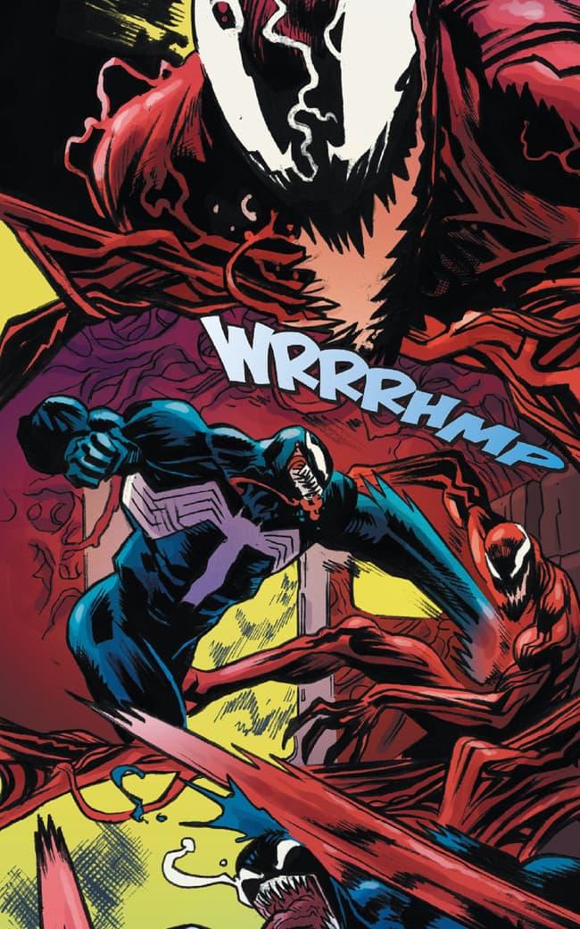 Venom and Carnage enter a slugfest!