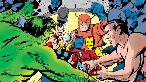 Image for Kirby 100: The Avengers Meet…Sub-Mariner!