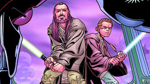 Image for Star Wars Spotlight: Qui-Gon & Obi-Wan – The Aurorient Express