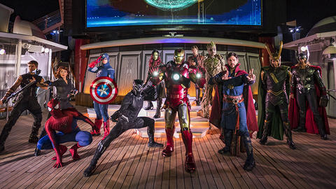 Image for Marvel Day at Sea Returning in 2019