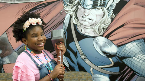 Image for Trinitee Stokes Joins the Marvel Podcast