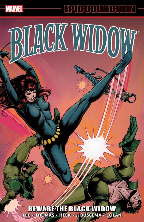 Cover to BLACK WIDOW EPIC COLLECTION: BEWARE THE BLACK WIDOW.