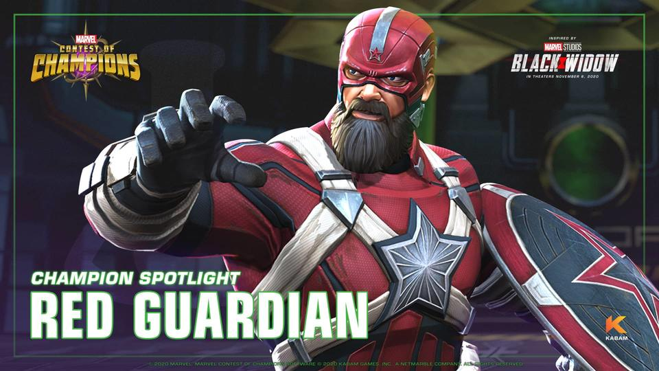 Entering Marvel Contest of Champions: Red Guardian