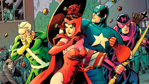 Image for AVENGERS: CAP'S KOOKY QUARTET