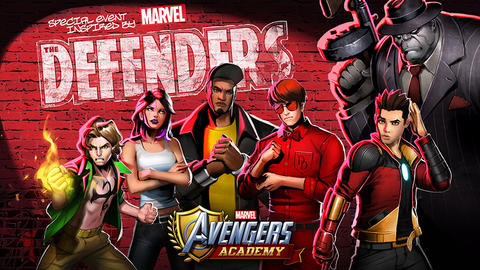 Image for The Defenders Return to Battle The Hand in 'Marvel Avengers Academy'
