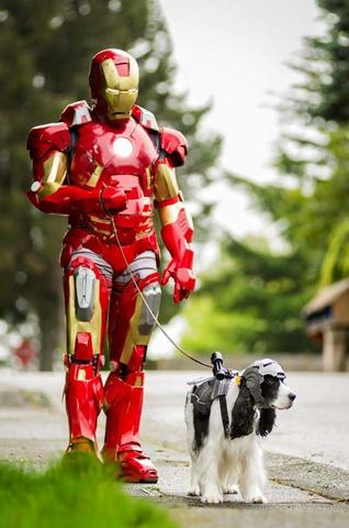 Rob Doran AKA Doran Clan Creations as Iron Man