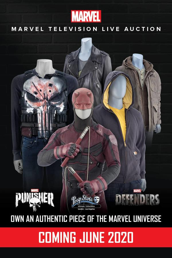 Prop Store Marvel Television Live Auction