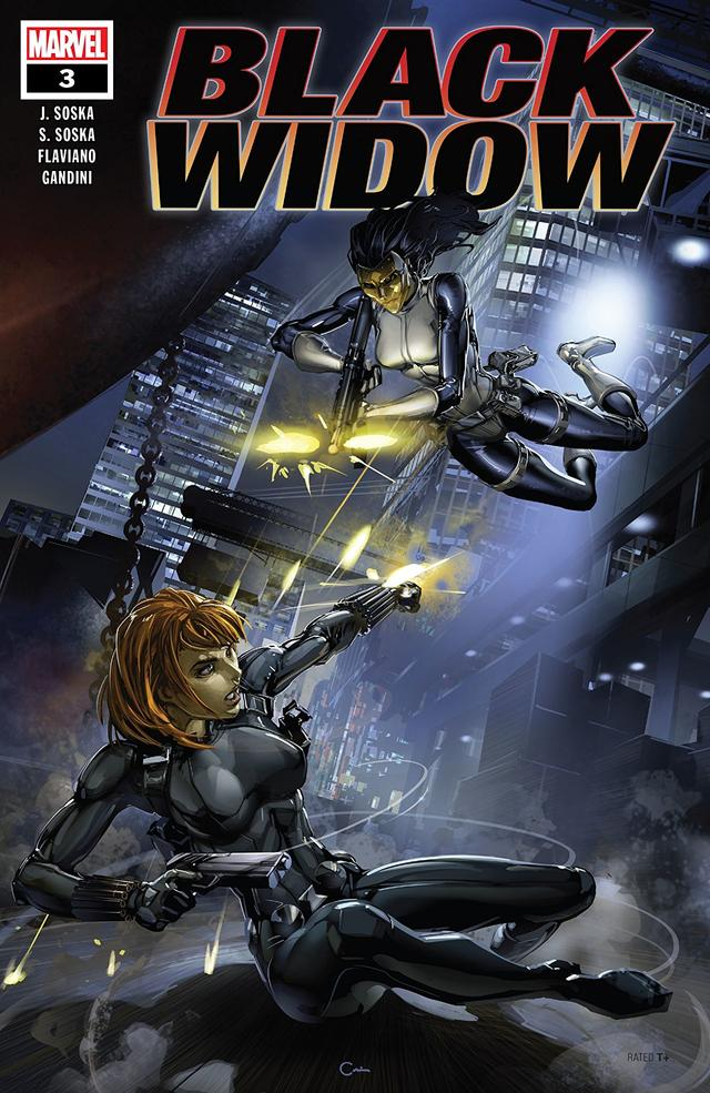 Cover of Black Widow #3