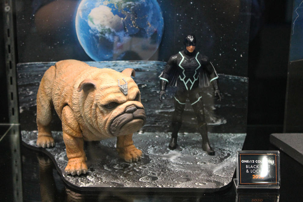 Lockjaw and Black Bolt figures