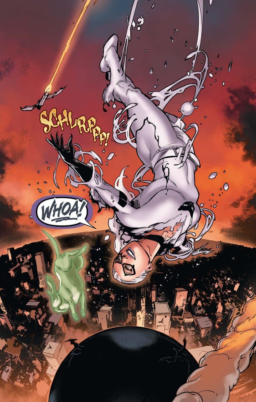Black Cat in her Anti-Venom suit!
