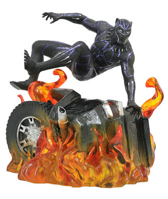 Marvel Movie Gallery Black Panther Version 2 PVC Diorama