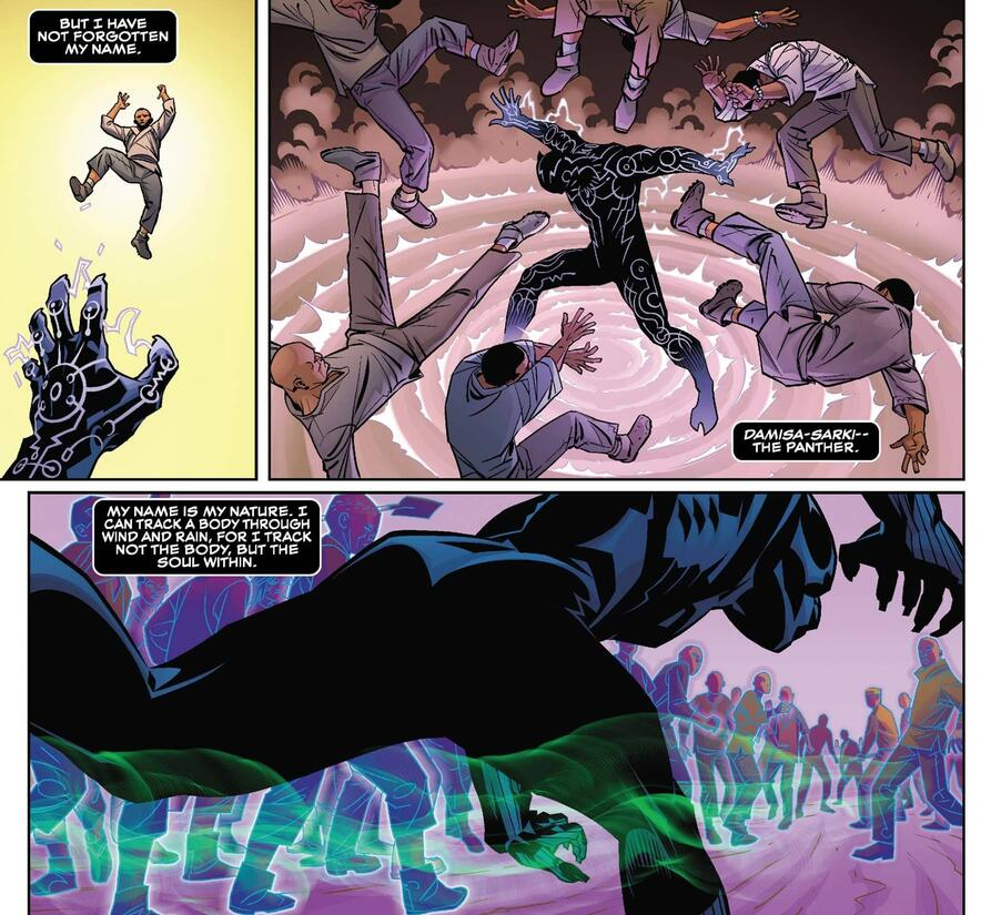 Black Panther leads the charage.