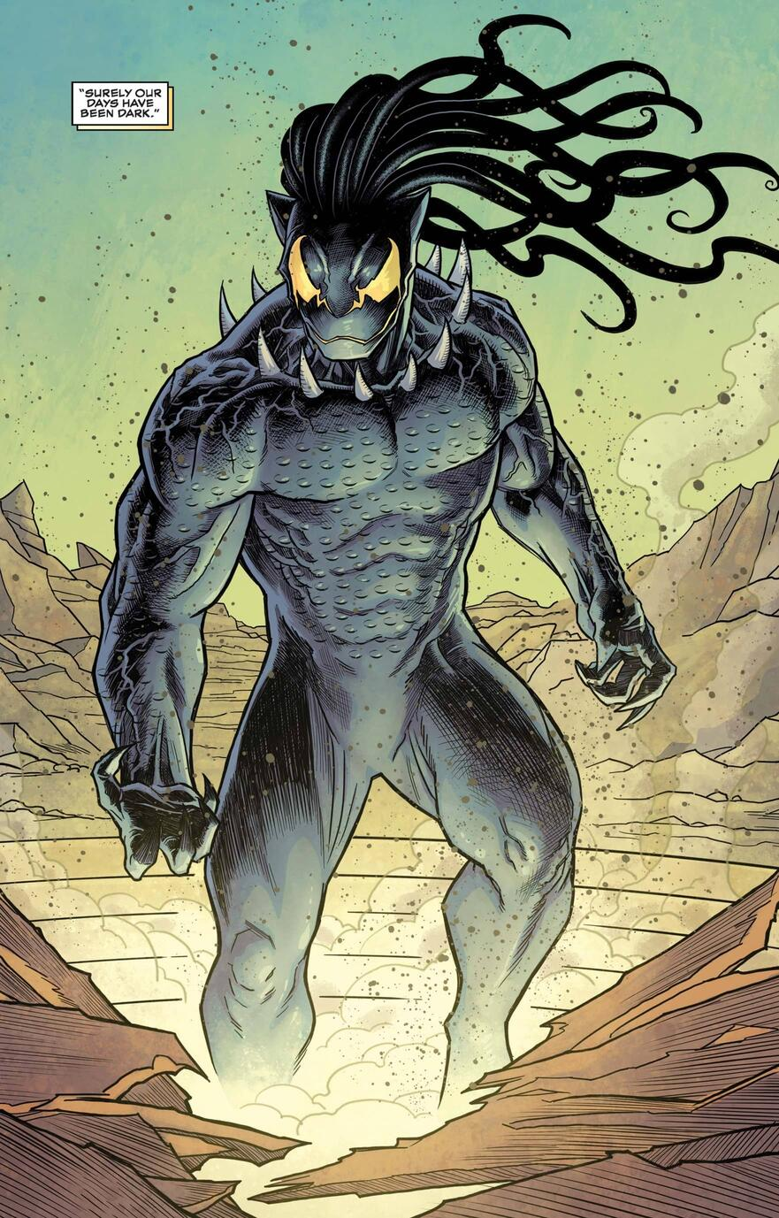 Emperor N'Jadaka in BLACK PANTHER (2018) #19.