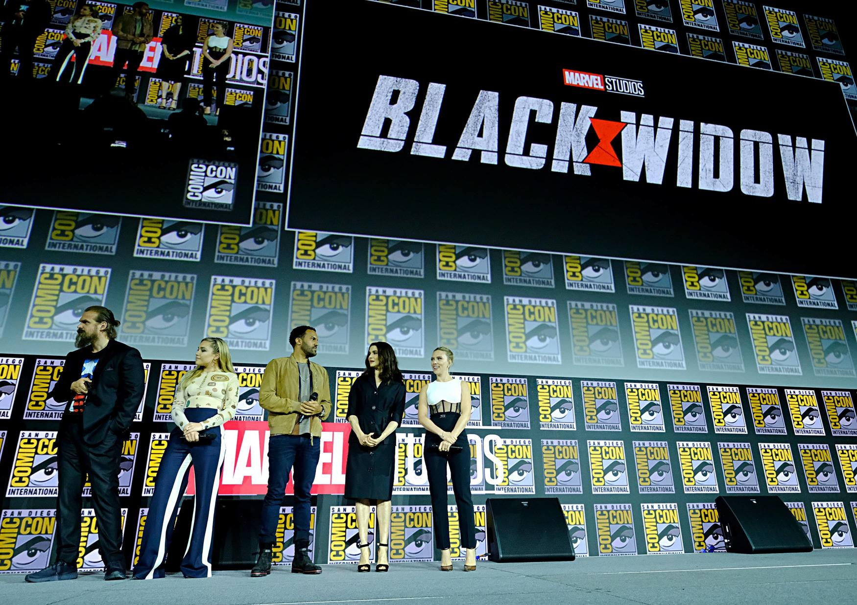 Black Widow cast