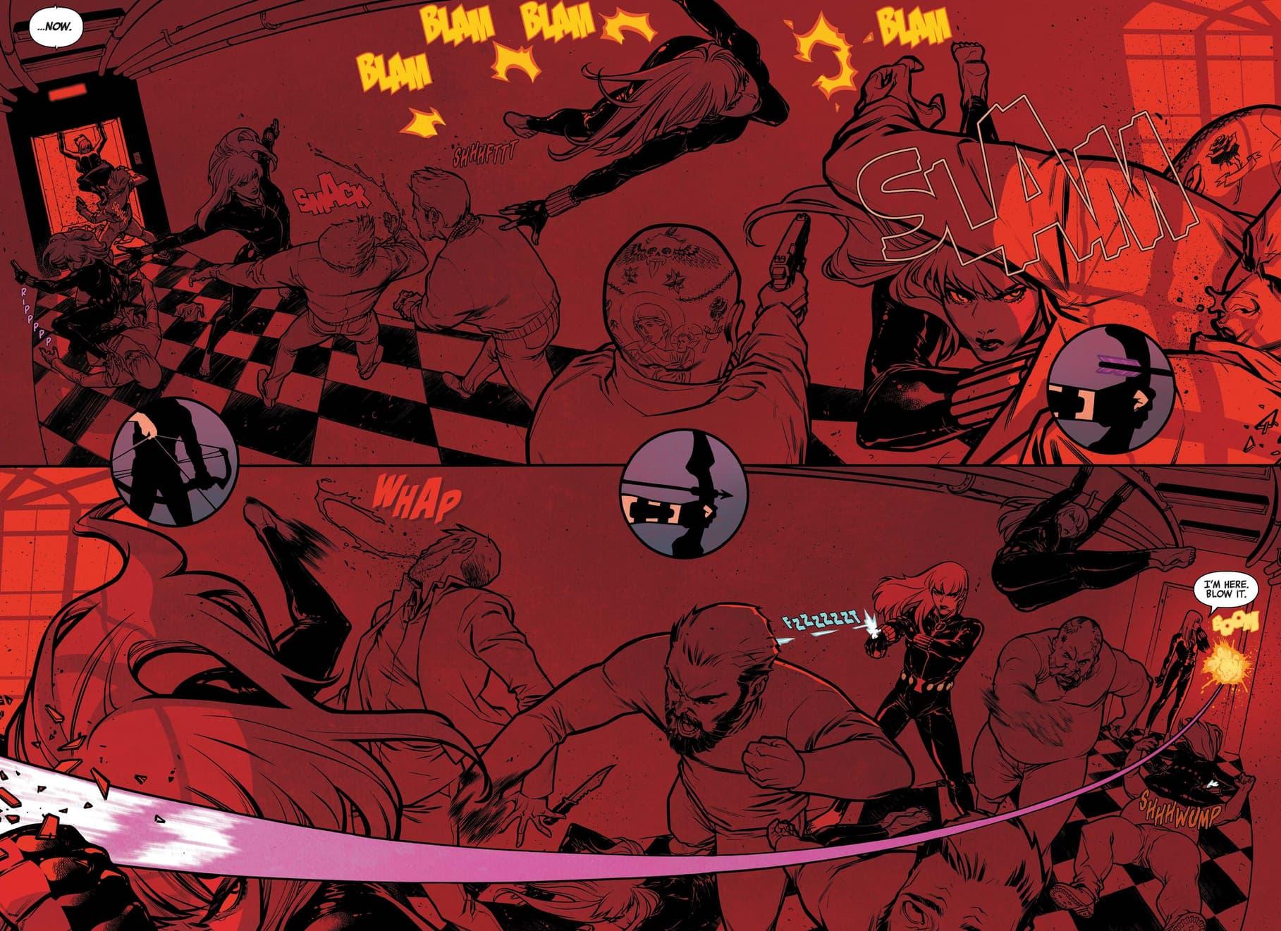 Natasha kicks up some conflict in Black Widow (2020) #1.