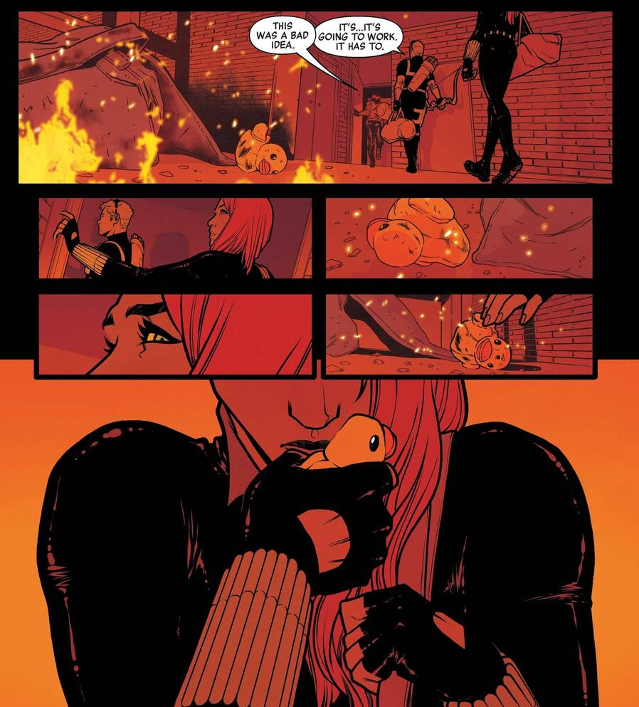 """Black Widow's """"perfect life"""" implodes."""