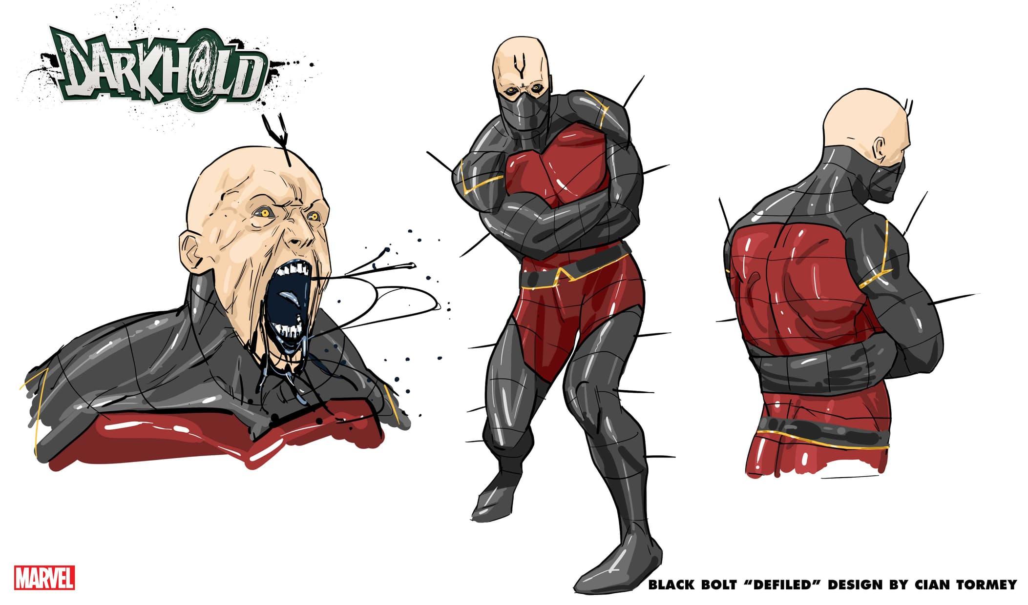 "Black Bolt ""Defiled"" Design by Cian Tormey"