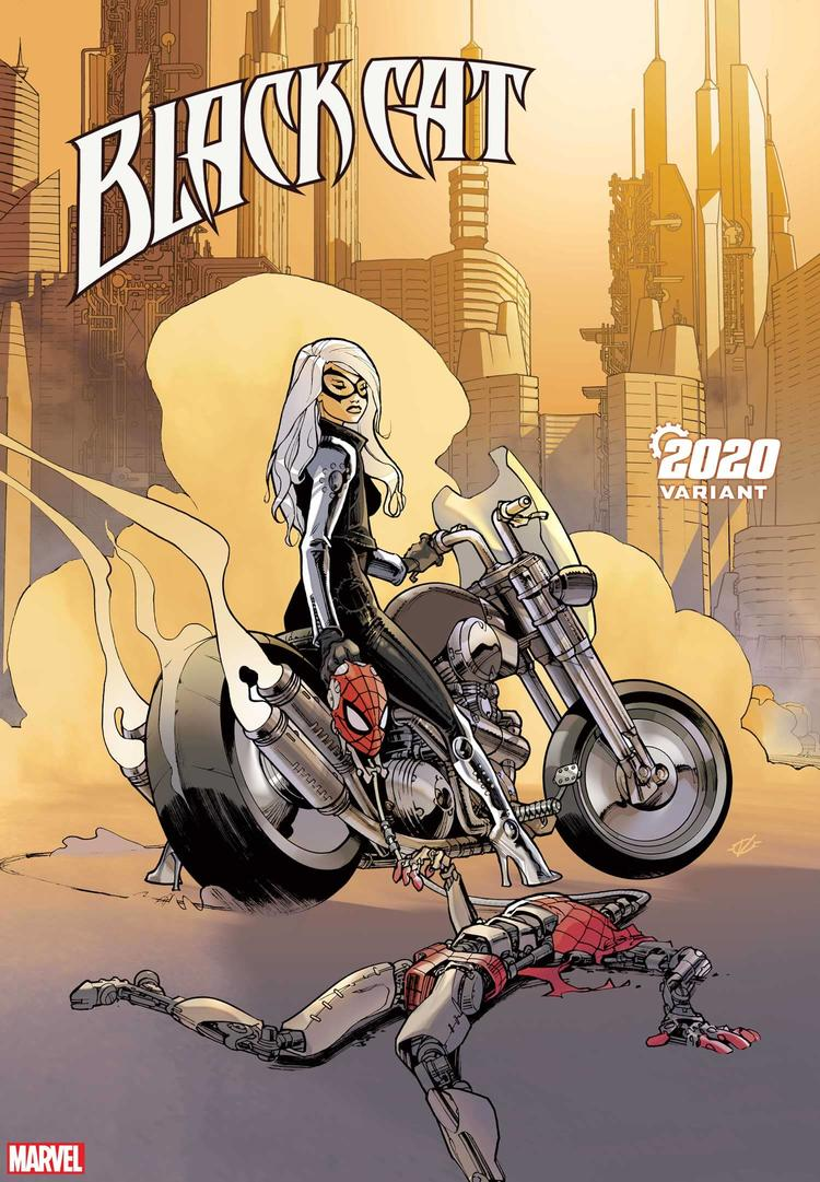 BLACK CAT #7 2020 VARIANT by OLIVIER VATINE