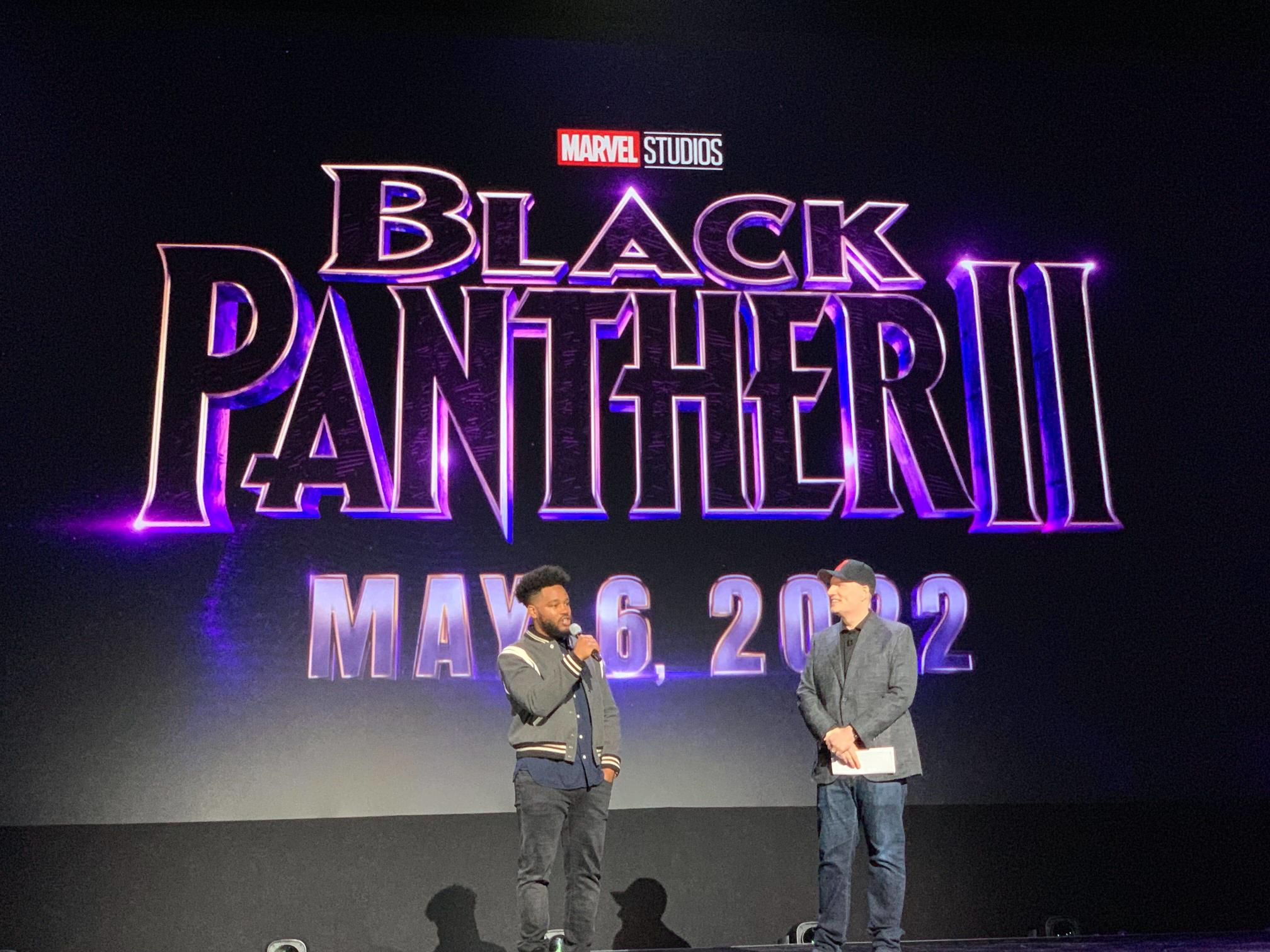 Black Panther 2 at d23