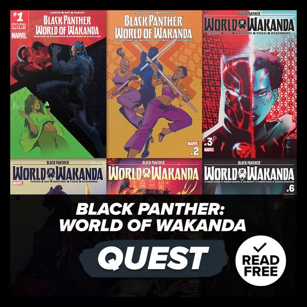 Marvel Insider Challenge Black Panther: World of Wakanda Reading Quest