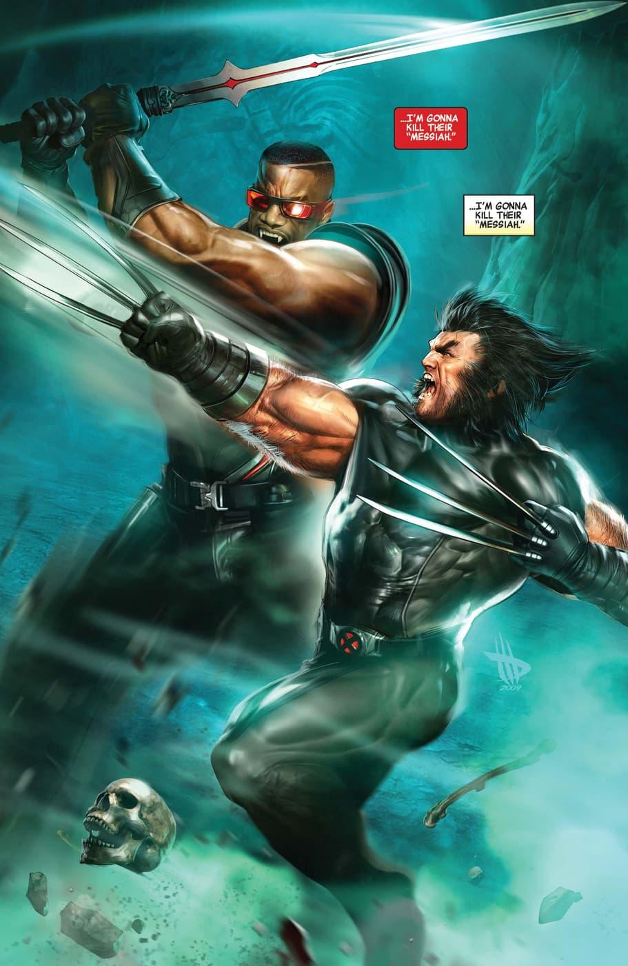 Blade V Wolverine