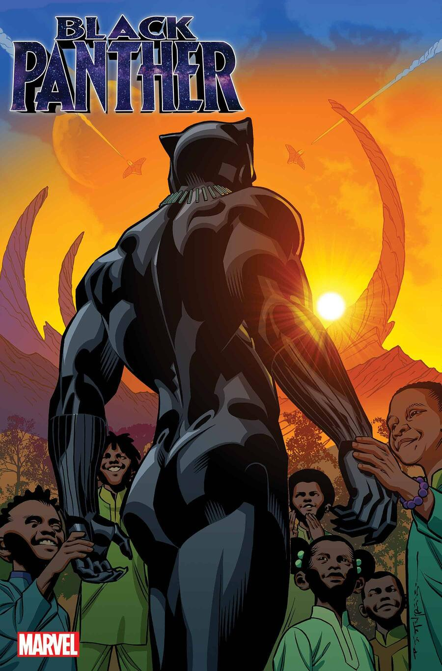Black Panther variant by Brian Stelfreeze