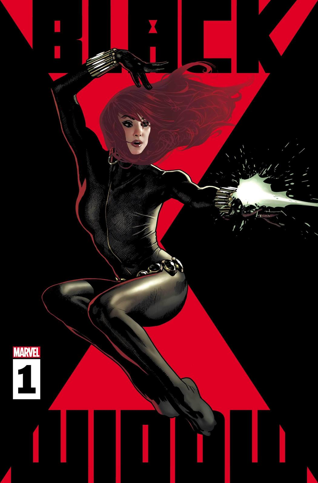 BLACK WIDOW #1 WRITTEN BY KELLY THOMPSON, ART BY ELENA CASAGRANDE, COVER BY ADAM HUGHES