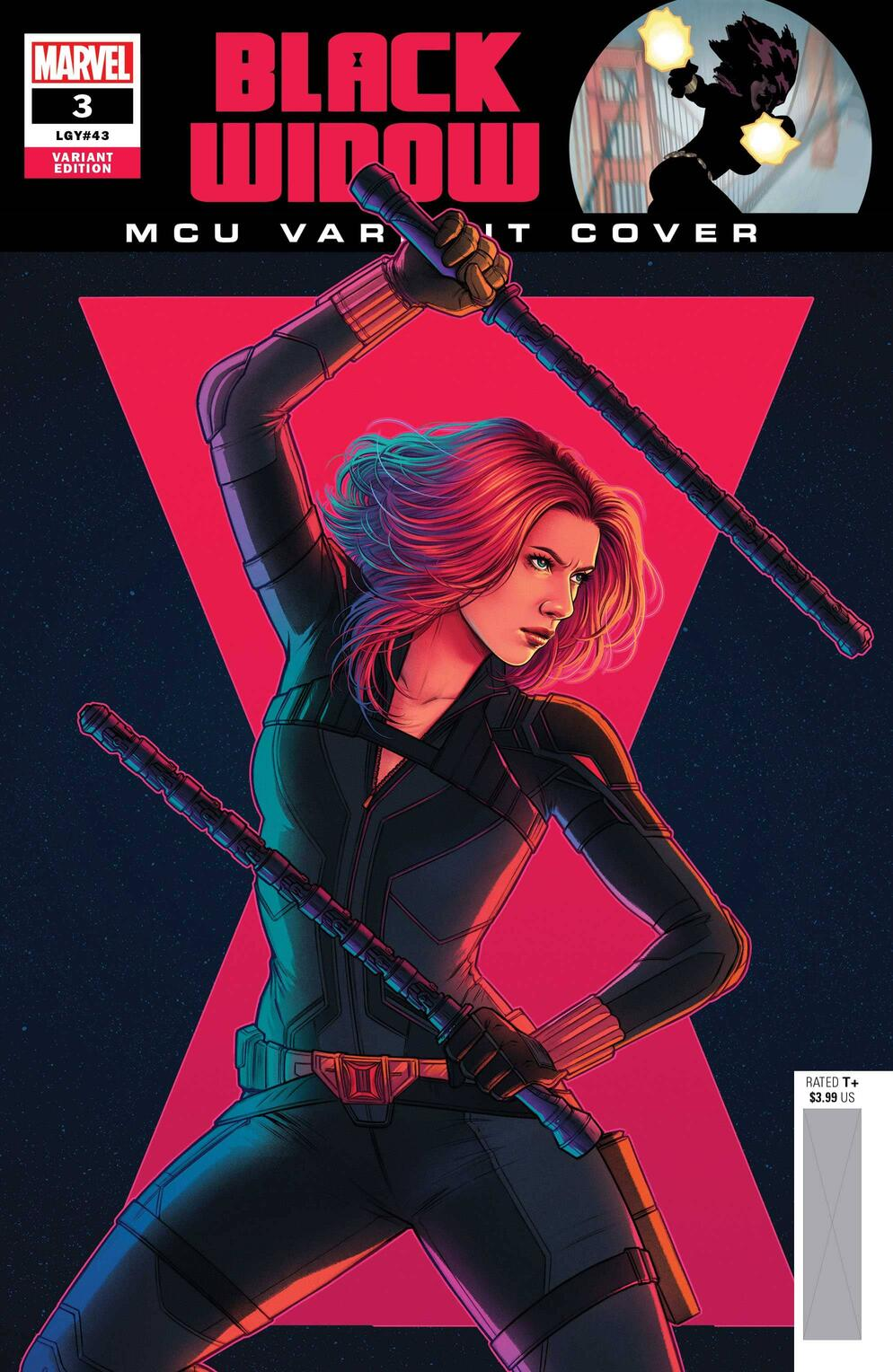 BLACK WIDOW (2020) #3 Variant Cover by Jen Bartel