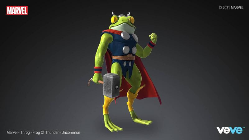 UNCOMMON— Throg — Frog of Thunder