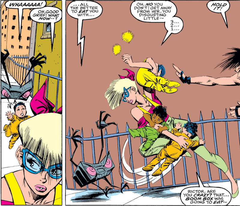 Boom Boom in New Mutants