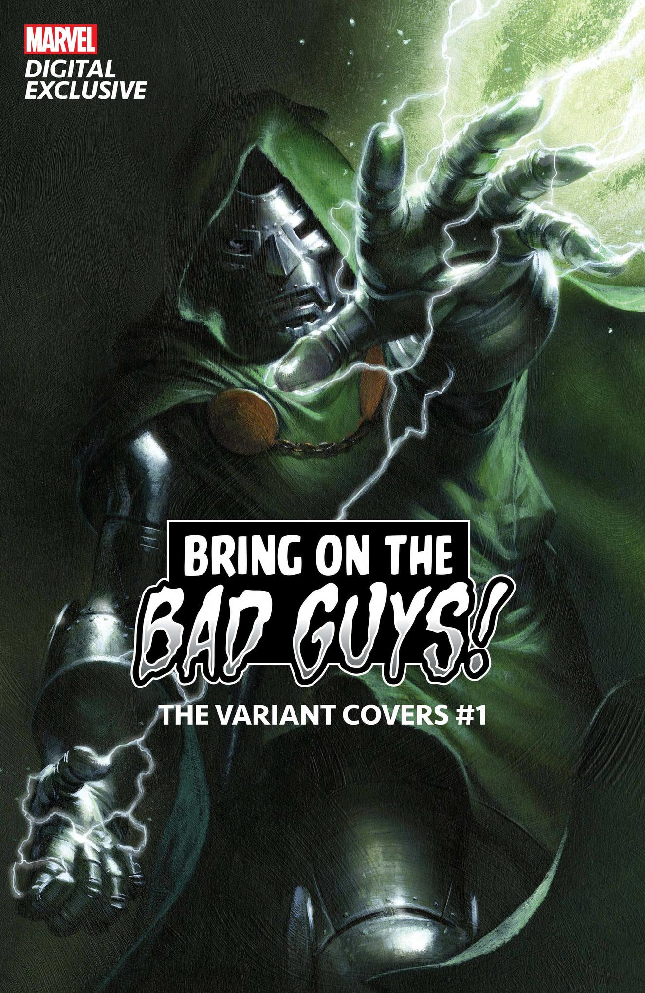 BRING ON THE BAD GUYS:THE VARIANT COVERS #1