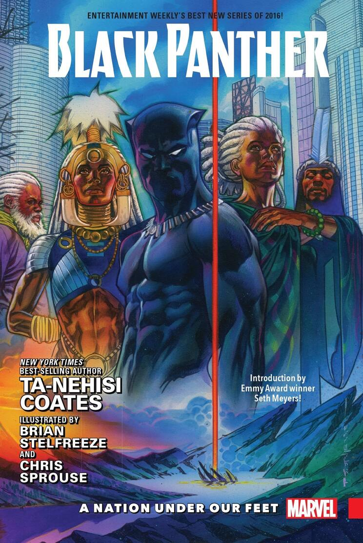 Cover to BLACK PANTHER: A NATION UNDER OUR FEET BOOK 1