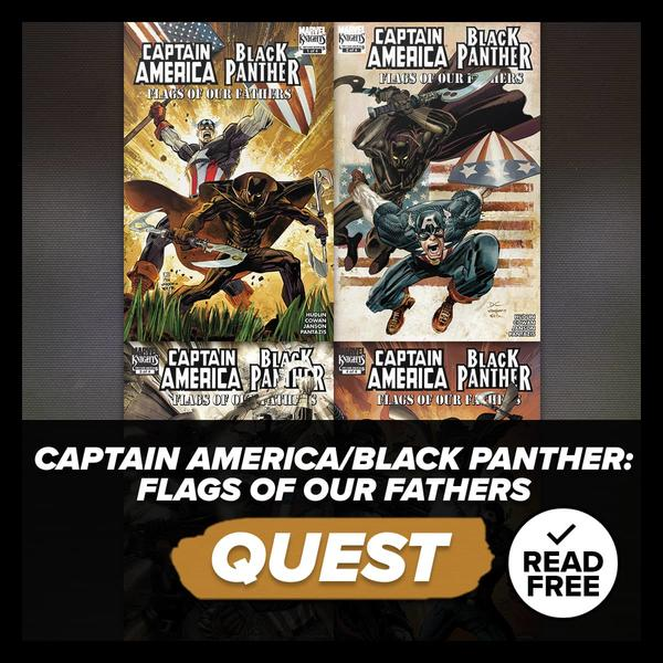 Marvel Insider CAPTAIN AMERICA/BLACK PANTHER (2010) #1-4