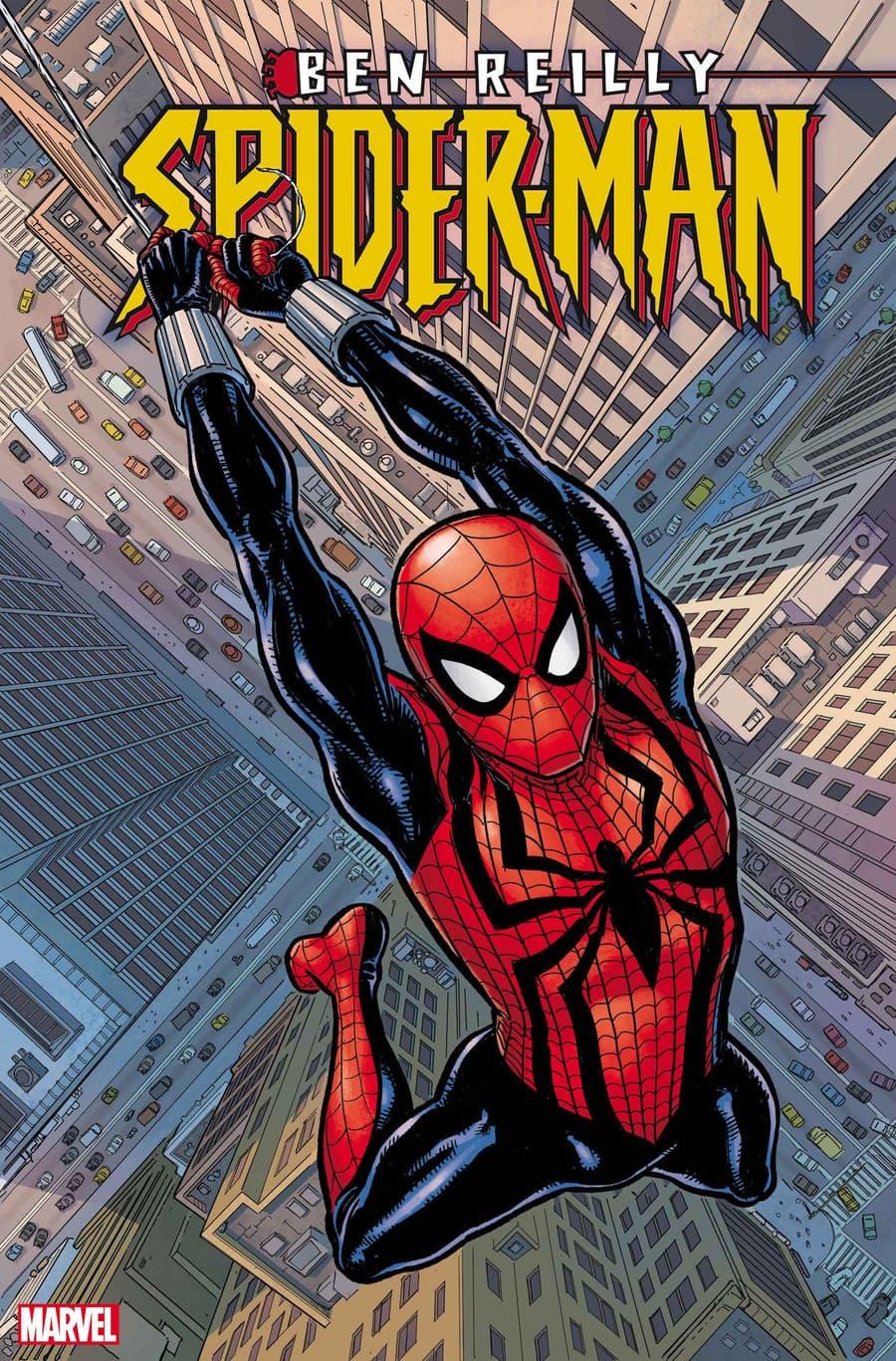 BEN REILLY: SPIDER-MAN #1 cover by Steve Skroce & David Stewart