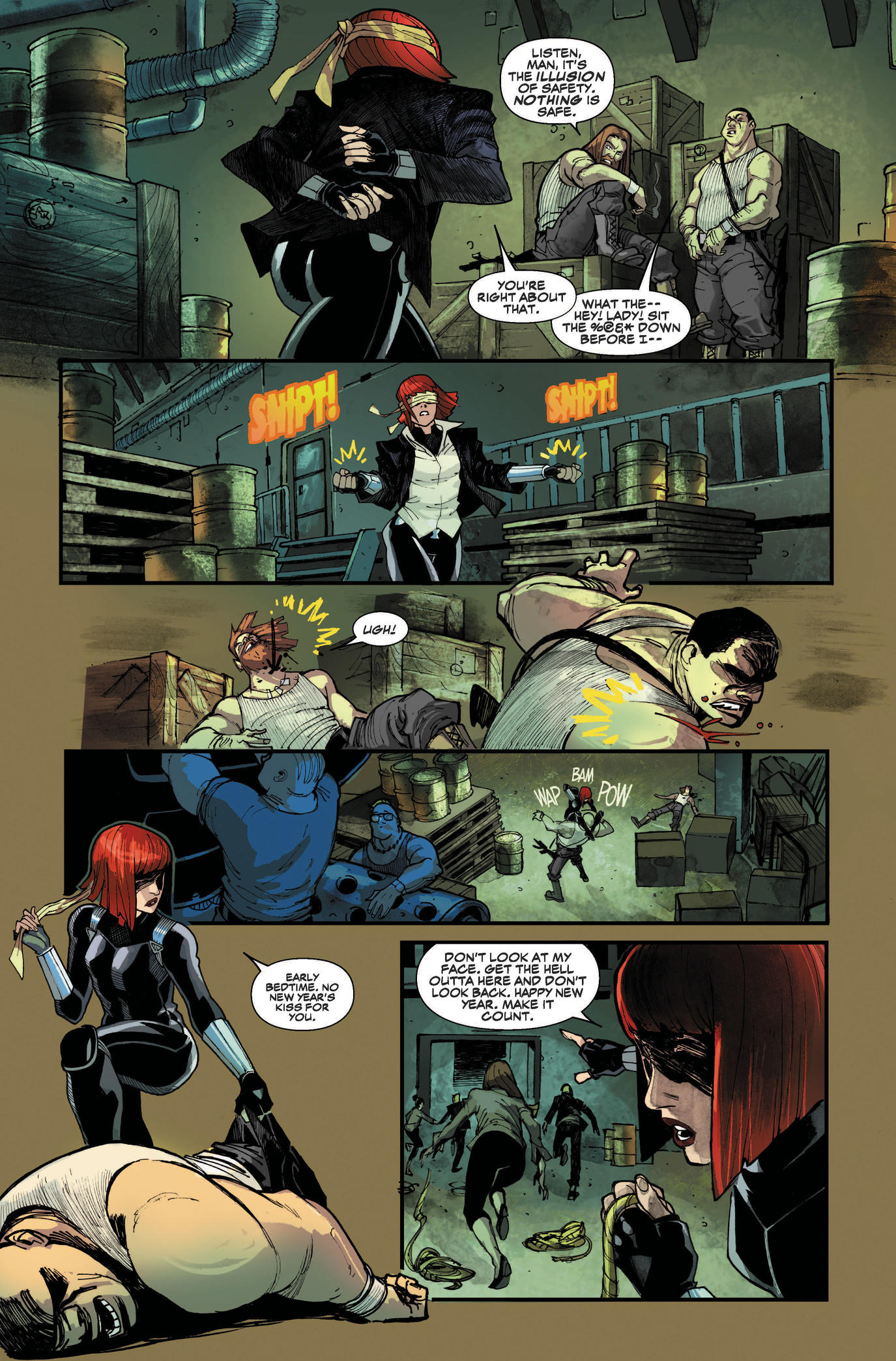 Preview page from Black Widow #1