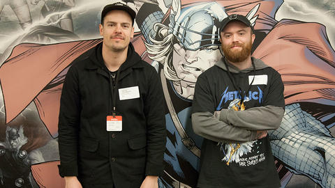 Image for The Band Beartooth Joins the Marvel Podcast