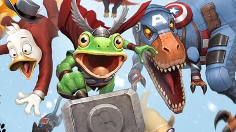 Image for The Pet Avengers Enroll at 'Marvel Avengers Academy'