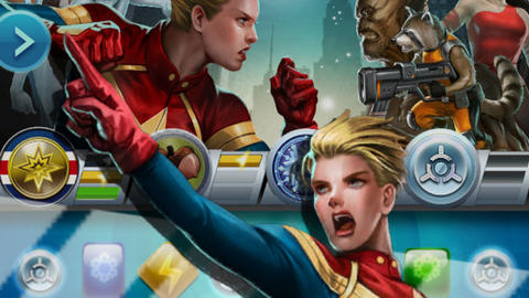 Image for Piecing Together Marvel Puzzle Quest: Captain Marvel