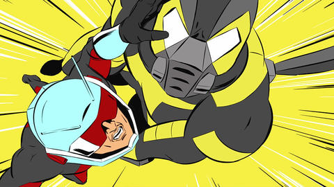 Image for Ant-Man Shrinks Into Action With 3 New Animated Shorts