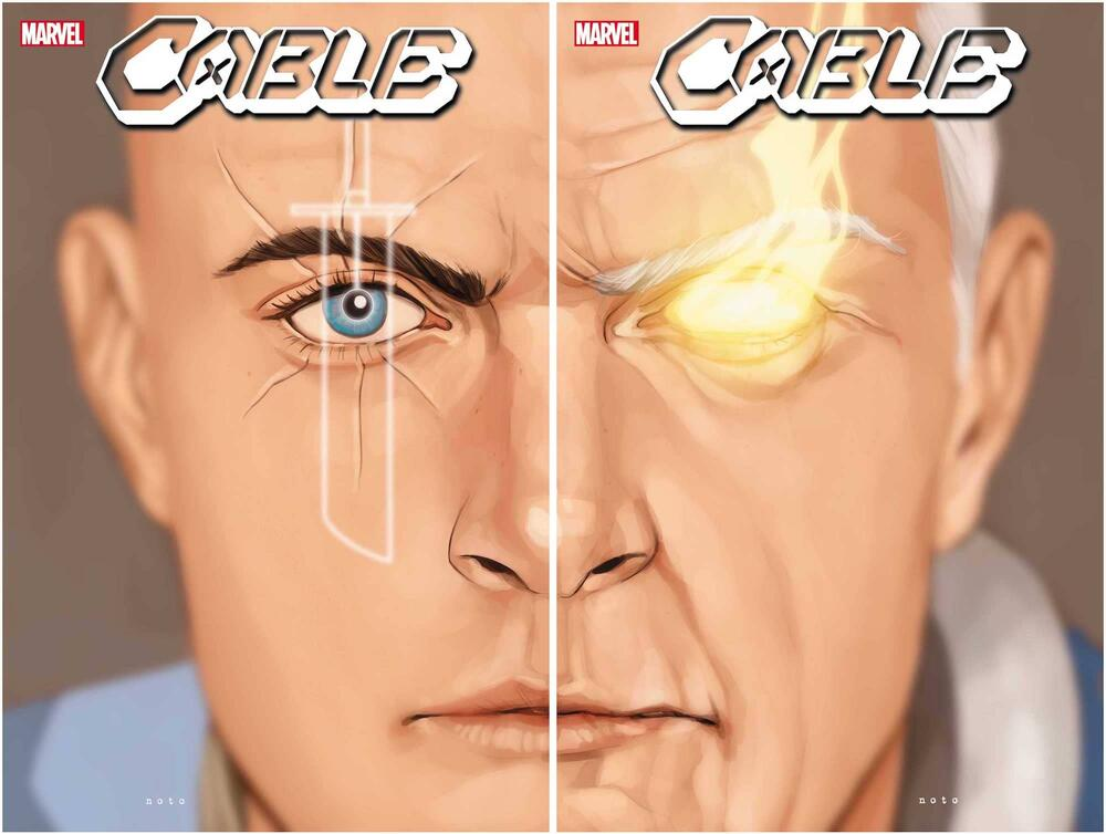 CABLE #11 and #12 covers by Phil Noto