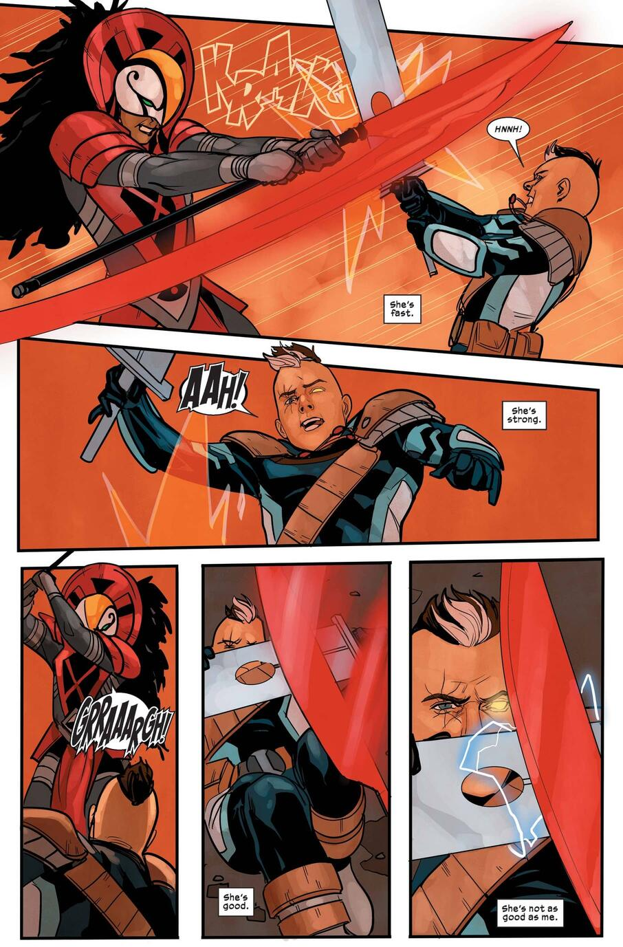 Cable versus Bei the Blood Moon