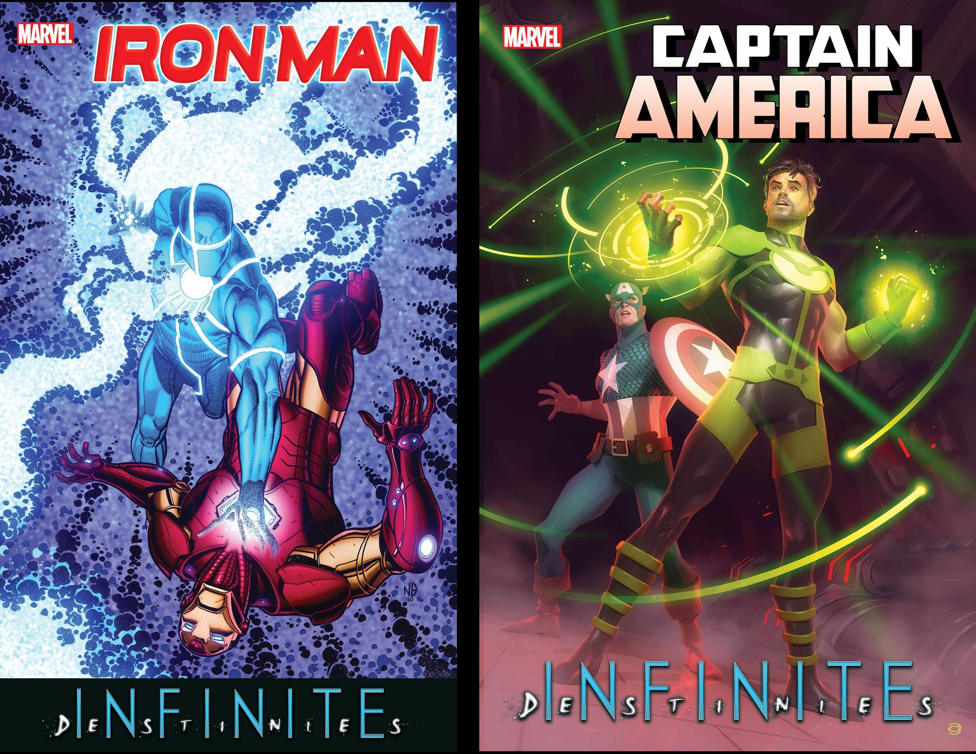 Captain America Annual and Iron Man Annual