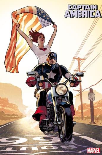 CAPTAIN AMERICA #15 by Adam Hughes