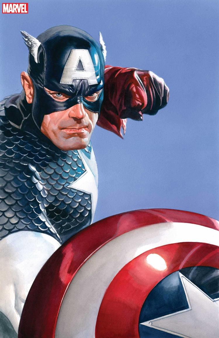 MARVELS SNAPSHOT: CAPTAIN AMERICA #1 cover by Alex Ross