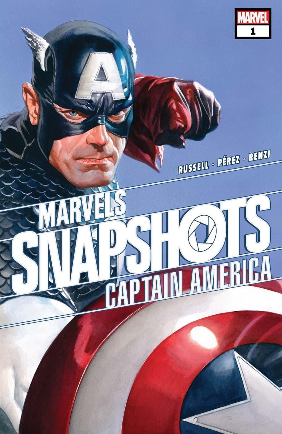 Look Inside 'Captain America: Marvels Snapshot #1' | Marvel