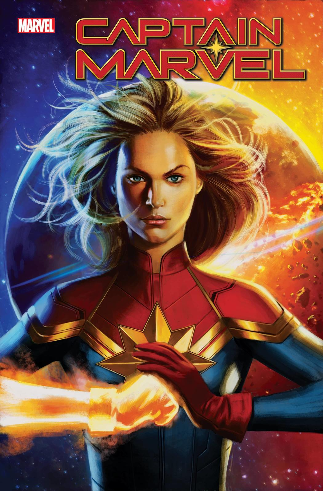 CAPTAIN MARVEL #22 WRITTEN BY KELLY THOMPSON, ART BY LEE GARBETT, COVER BY JORGE MOLINA