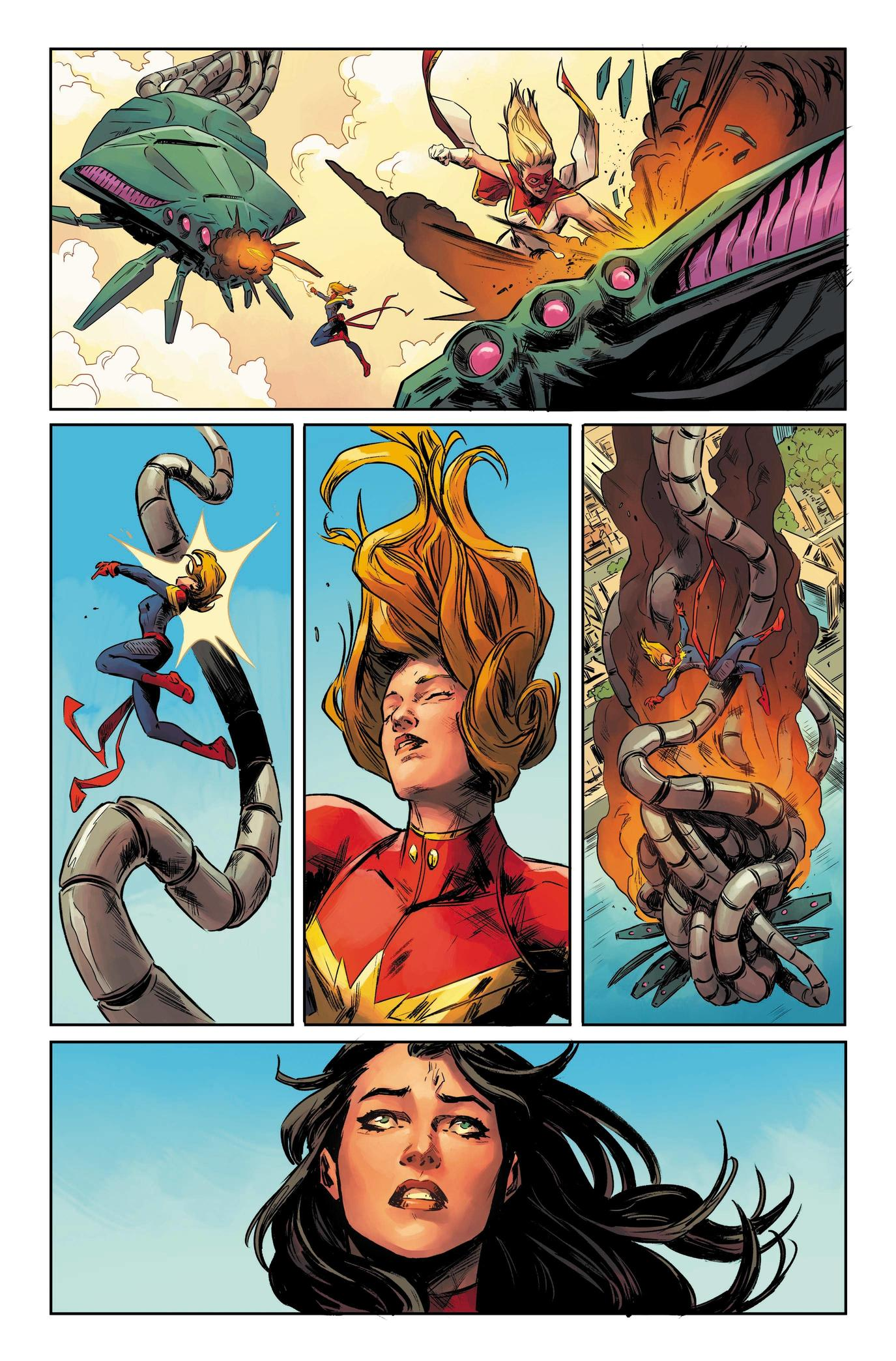 Page from Captain Marvel #8