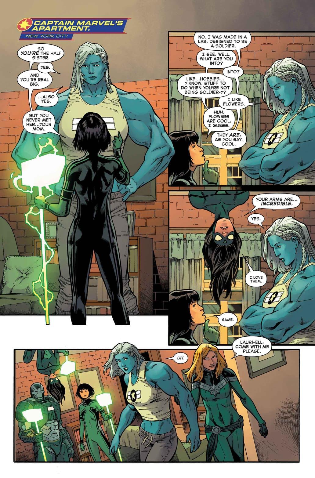 Captain Marvel #20 preview