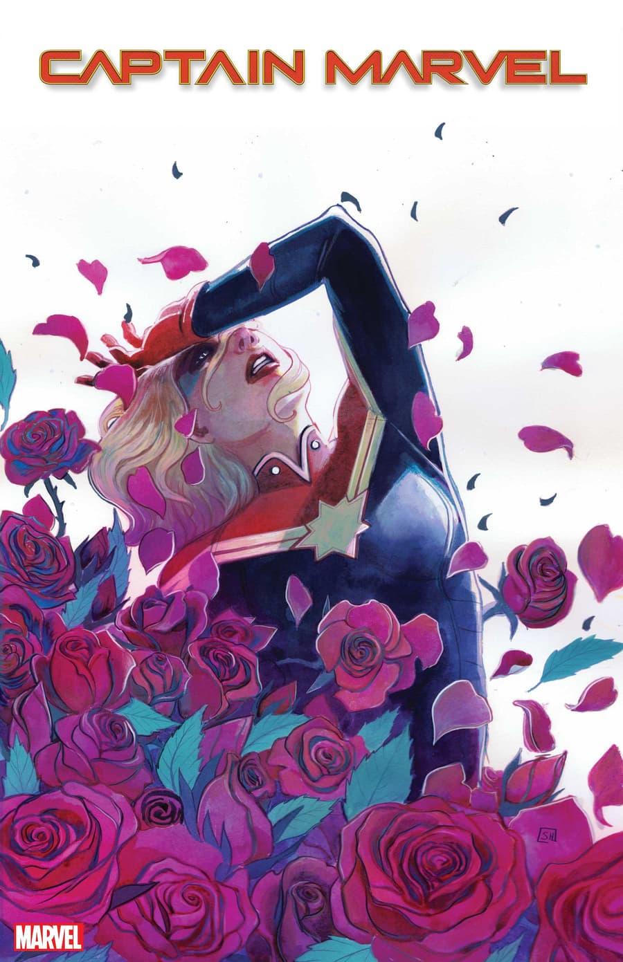CAPTAIN MARVEL #27 variant cover by Stephanie Hans