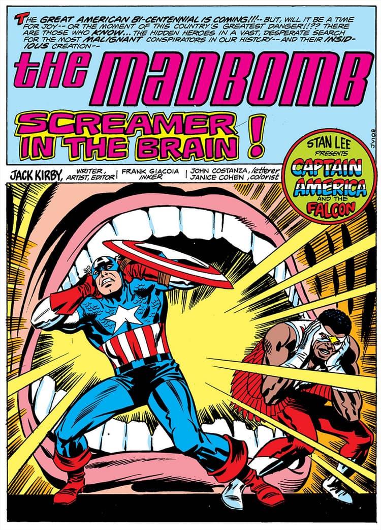 Captain America Madbomb story
